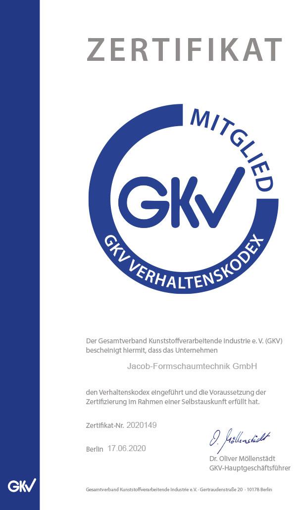 GKV Zertifikat